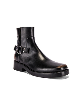 High Sole Strap Boot by Raf Simons