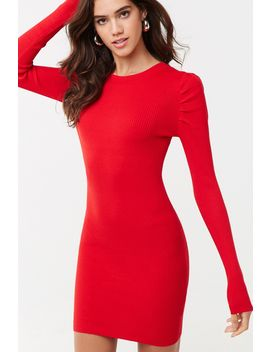 Puff Sleeve Mini Dress by Forever 21