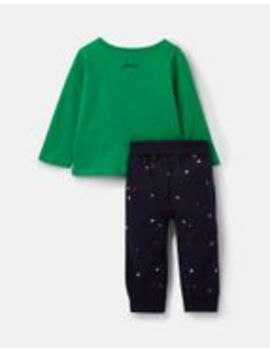 Byron Applique Top And Pants Set by Joules
