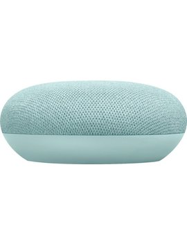 Home Mini   Smart Speaker With Google Assistant   Aqua by Google