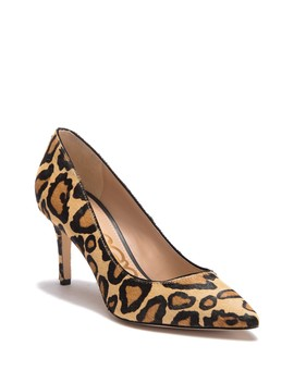Tristan Genuine Calf Hair Leopard Print Pump by Sam Edelman
