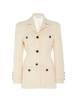 Wool Blend Bouclé Jacket by Alessandra Rich