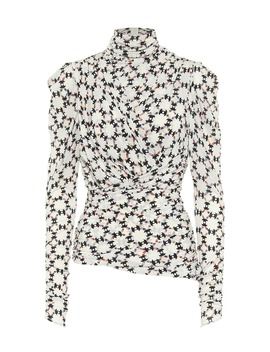 Jalford Printed Stretch Jersey Top by Isabel Marant