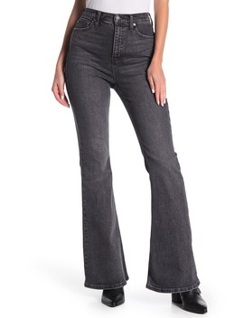 Crvy Robin High Waist Flare Jeans by Free People