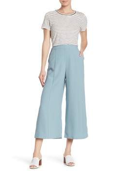 Woven Cropped Pants by Free Press