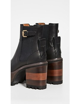 Bryn Platform Ankle Boots by See By Chloe