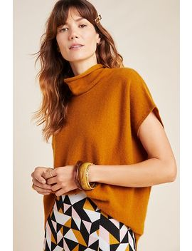Patty Cowl Neck Cashmere Poncho by Anthropologie