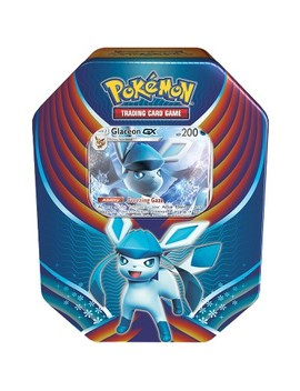 Pokemon Trading Card Game Evolution Celebration Fall Tin Featuring Glaceon Gx by Gx