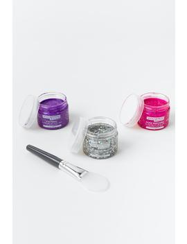 Glitter Face Mask With Applicator by Francesca's