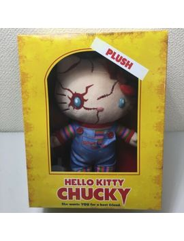 Hello Kitty &Chucky Big Plush Doll Figure Usj Limited Edition Japan New by Ebay Seller