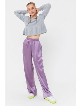 Urban Renewal Remnants Satin Puddle Pant by Urban Renewal