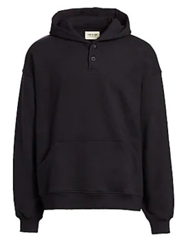 Everyday Henley Hoodie by Fear Of God