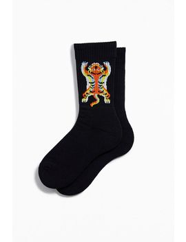 Placed Tiger Sport Crew Sock by Urban Outfitters