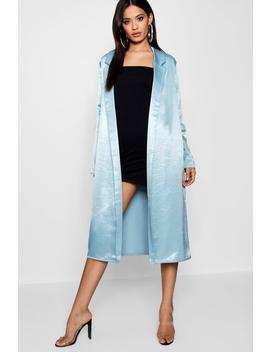 Satin Duster by Boohoo