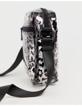Claudia Canova Transparent Festival Cross Body Bag In Leopard by Asos