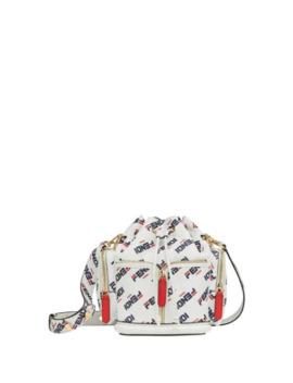 Fendi Mania Bucket Bag by Fendi