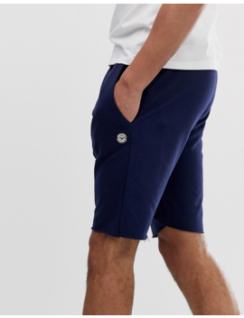 Le Breve Tall 2 Pack Raw Edge Sweat Shorts by Asos