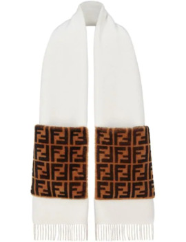 Touch Of Fur Scarf by Fendi