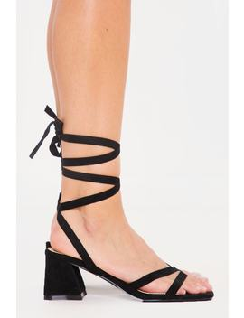 Black Block Heels by In The Style