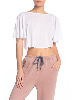 Sweet Thing Flowy Sleeve T Shirt by Free People