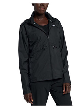 Essential Packable Hooded Running Jacket by General