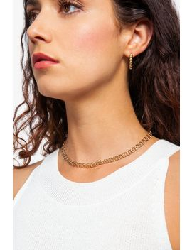 **Double Link Chain Choker by Topshop