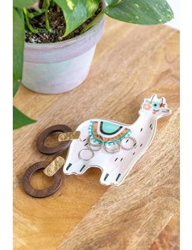 Llama Shaped Trinket Dish by Francesca's
