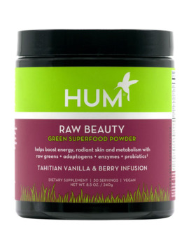 Hum Nutrition Raw Beauty™ Powder – Tahitian Vanilla & Berry Infusion by Hum Nutrition