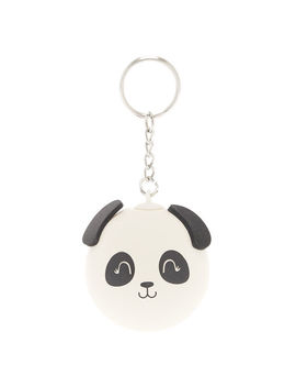 Panda Stress Ball Keychain   White by Claire's