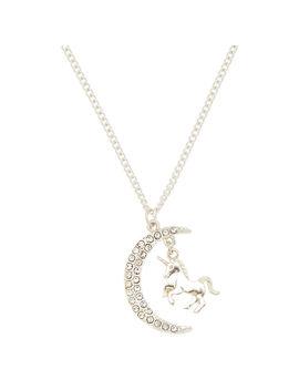 Majestic Celestial Unicorn Pendant Necklace by Claire's
