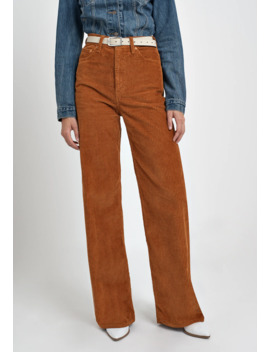 Ribcage Cord Wide Leg   Flared Jeans by Levi's®