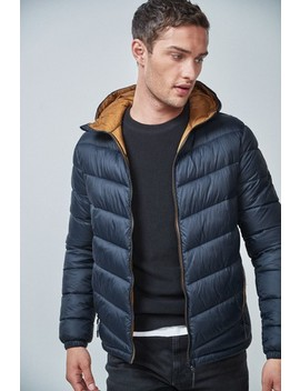 Hooded Quilt Jacket With Du Pont™ by Next