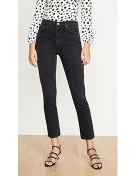 Julia High Cigarette Jeans by Reformation