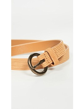 Cut Leather Belt by Madewell