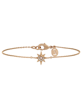 Rose Gold Star Bracelet With Swarovski® Crystals by Accessorize