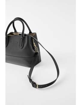 Soft Tumbled City Bag  View All Bags Woman by Zara