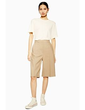 **Beige City Shorts By Topshop Boutique by Topshop