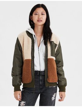 ae--reversible-fleece-bomber-jacket by american-eagle-outfitters