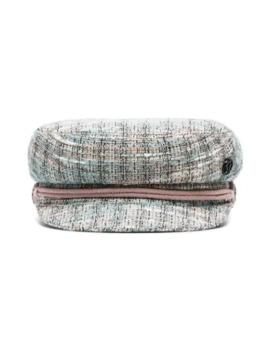 Abby Tweed Baker Boy Hat by Maison Michel
