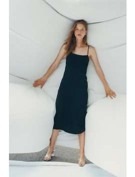 Flowing Dress View All Dresses Trf by Zara