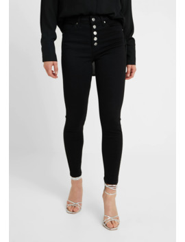 Button Fly Jamie   Jeans Skinny Fit by Topshop Petite