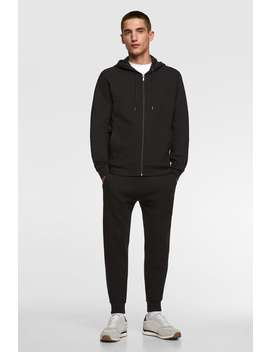 Basic Jogger Trousers Basics Trousers Man by Zara