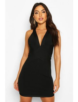 Boutique Bandage Cross Front Mini Dress by Boohoo