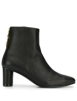 Zipped Ankle Boots by Reike Nen