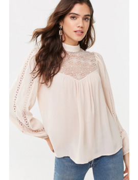 Flowy Crochet Top by Forever 21
