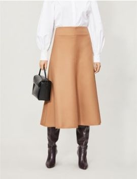 Aria Twill Midi Skirt by Camilla And Marc