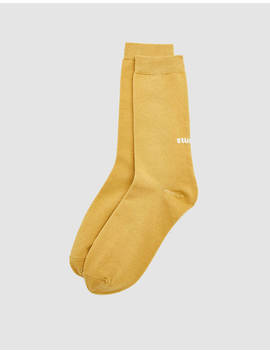 Everyday Sock In Gold by Stüssy Stüssy