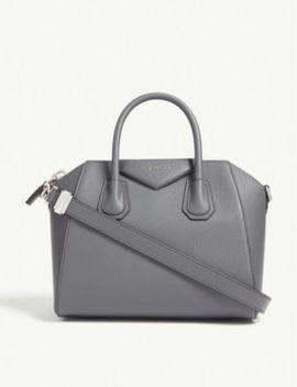 Antigona Sugar Small Leather Tote Bag by Givenchy