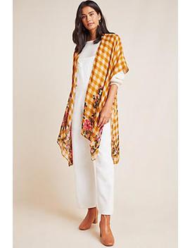 Audrey Printed Kimono by Anthropologie