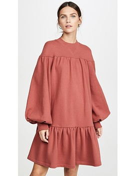 Cotton Mini Dress by Goen.J